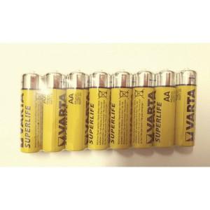 Set 8 baterii R6 Varta Superlife
