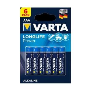 Set 6 baterii R3 Varta High Energy